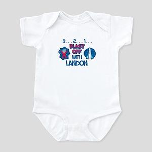Blast Off with Landon Infant Bodysuit