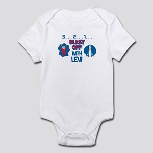 Blast Off with Levi Infant Bodysuit