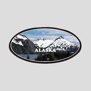 Alaska: Portage Lake and mountains Patch