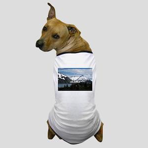 Alaska: Portage Lake and mountains Dog T-Shirt