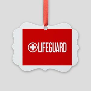 Lifeguard: Lifeguard (White) Ornament