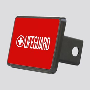 Lifeguard: Lifeguard (White) Hitch Cover