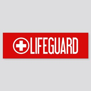 Lifeguard: Lifeguard (White) Bumper Sticker