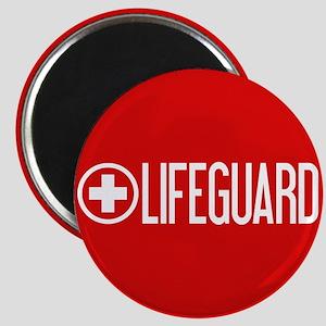 Lifeguard: Lifeguard (White) Magnets