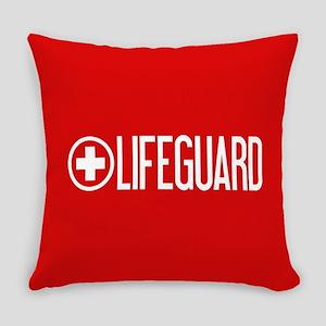 Lifeguard: Lifeguard (White) Everyday Pillow