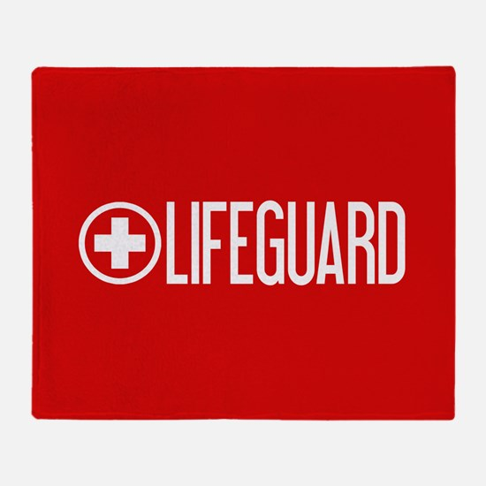 Lifeguard: Lifeguard (White) Throw Blanket