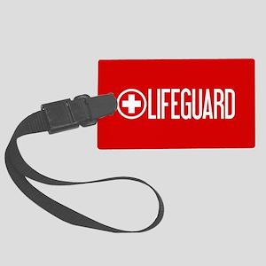 Lifeguard: Lifeguard (White) Luggage Tag
