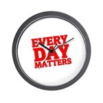 Every Day Matters Wall Clock