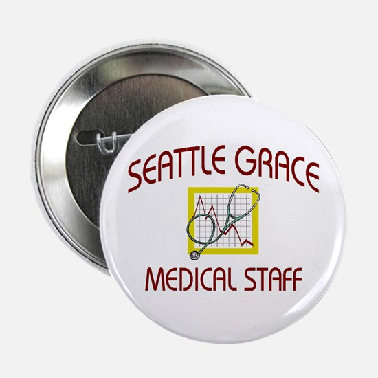 "Seattle Grace Staff 2.25"" Button"