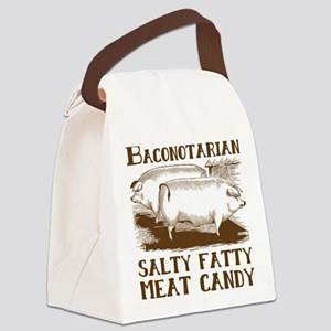 Bacon Baconotarian Canvas Lunch Bag