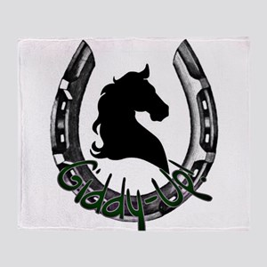 Giddy-up Throw Blanket