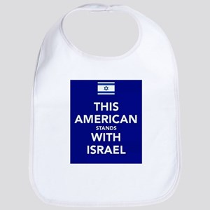Stand with Israel Baby Bib