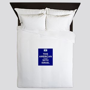 Stand with Israel Queen Duvet