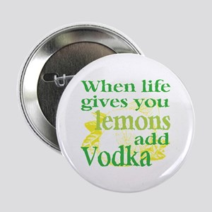 "Funny Lemon Vodka 2.25"" Button"