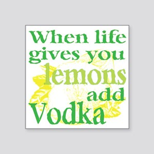 Funny Lemon Vodka Sticker