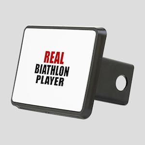 Real Biathlon Rectangular Hitch Cover