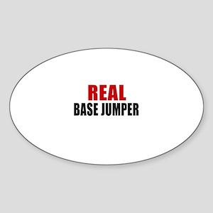 real base Sticker (Oval)
