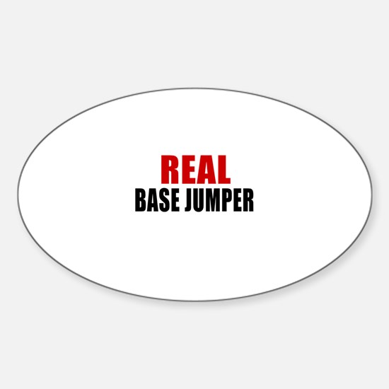 real base Sticker (Oval)