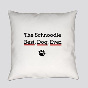 The Schnoodle Best Dog Ever Everyday Pillow