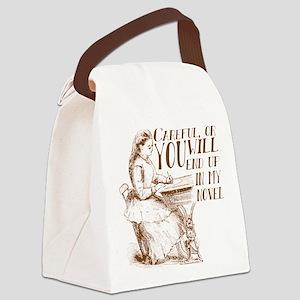Funny Author Novel Meme Canvas Lunch Bag