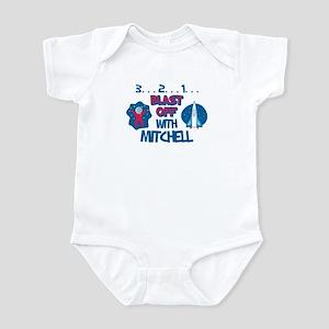 Blast Off with Mitchell Infant Bodysuit