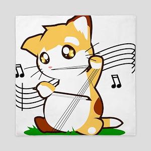 Cello Kitty Queen Duvet