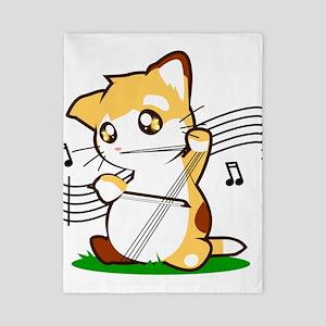 Cello Kitty Twin Duvet