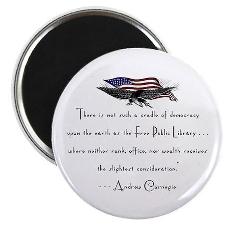 Andrew Carnegie-Libraries<br> Magnet