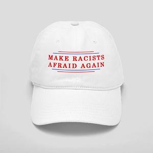 Make Racists Afraid Again Hat White Cap
