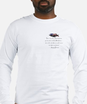 Andrew Carnegie-Libraries<br> Long Sleeve T-Shirt