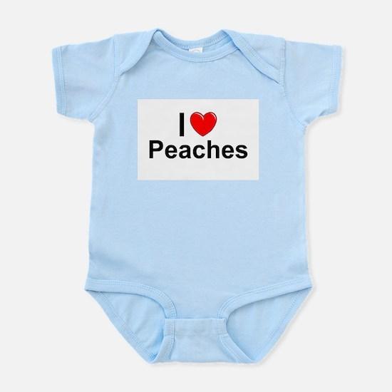 Peaches Infant Bodysuit