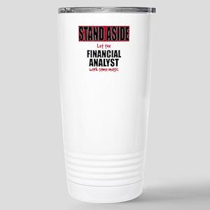 Financial Analyst Stainless Steel Travel Mug