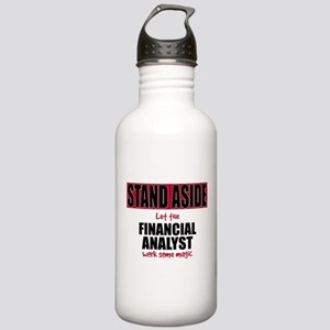 Financial Analyst Stainless Water Bottle 1.0L