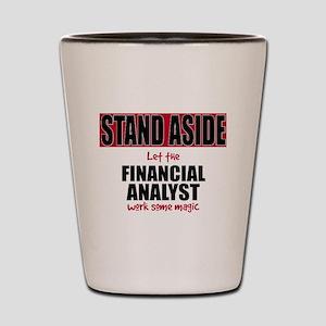 Financial Analyst Shot Glass