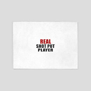 Real Shot Put 5'x7'Area Rug