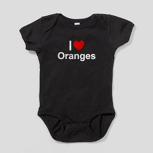 Oranges Baby Bodysuit
