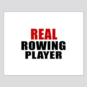 Real Rowing Small Poster