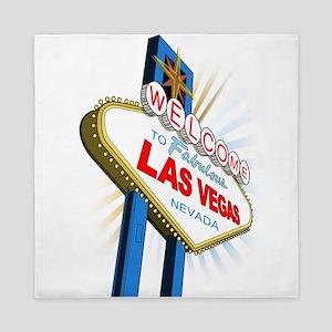 Welcome to Las Vegas Queen Duvet