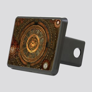 Steampunk, noble design with clocks and gears Hitc