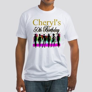 MS DIVA 50TH Fitted T-Shirt