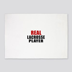 Real Lacrosse 5'x7'Area Rug