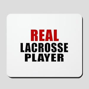 Real Lacrosse Mousepad