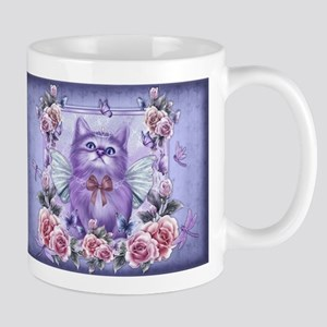Fairy Princess Cat Mugs