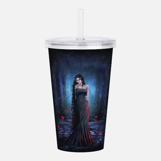 Lady of the Dark Acrylic Double-wall Tumbler