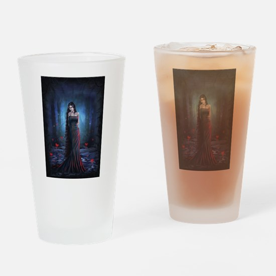Lady of the Dark Drinking Glass
