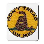 Don't Tread on Me-Circle Mousepad