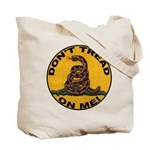 Don't Tread on Me-Circle Tote Bag