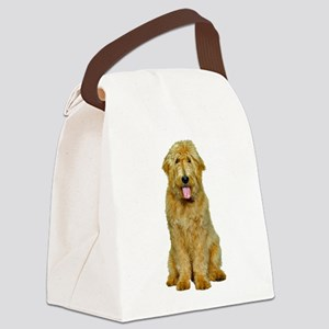 Goldendoodle Photo Canvas Lunch Bag