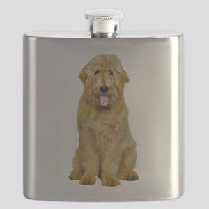Goldendoodle Photo Flask
