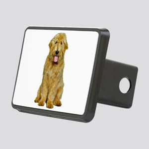 Goldendoodle Photo Rectangular Hitch Cover